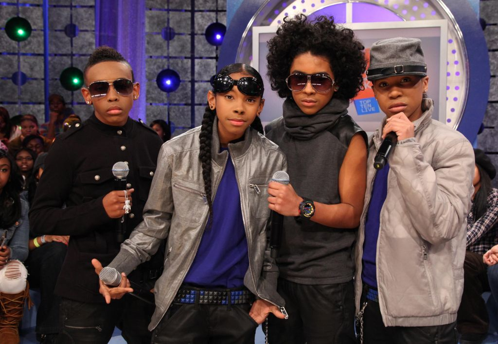 Mary Mary And Mindless Behavior Visits BET's '106 & Park