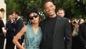 Willow, Will Smith at Chanel Haute Couture Fall/Winter 2016-2017 show for Paris Fashion Week