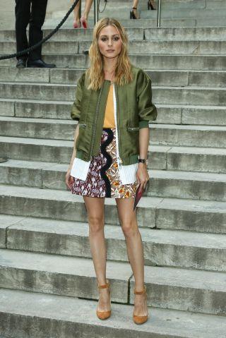 Olivia Palermo - Celebrities at Paris Fashion Week