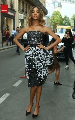 Jourdan Dunn - Celebrities at Paris Fashion Week