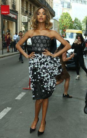 Jourdan Dunn - Celebrities at Paris Fashion Week
