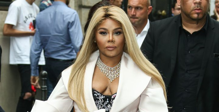 Lil Kim - Celebrities at Paris Fashion Week