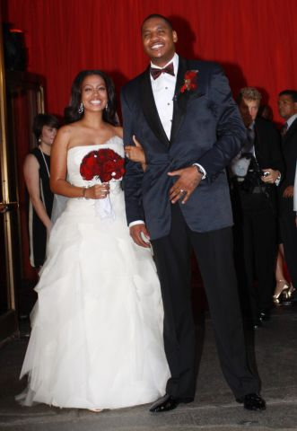 Guests Attend La La Vasquez And Carmelo Anthony's Wedding
