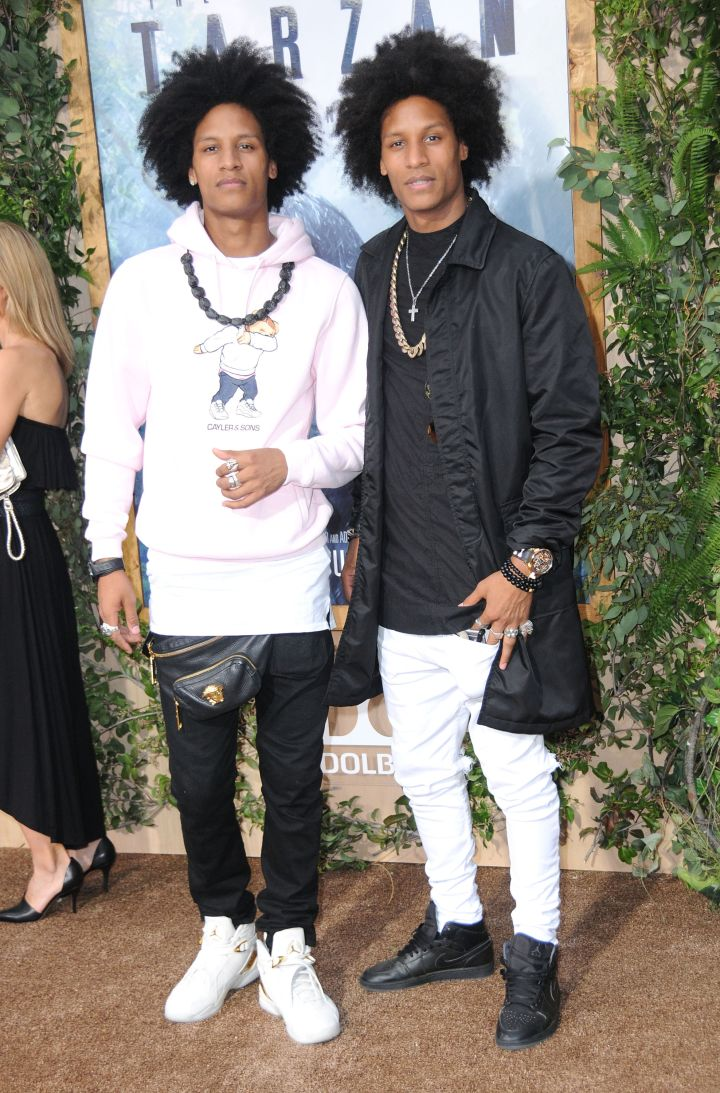 Les Twins- Laurent and Larry Bourgeois