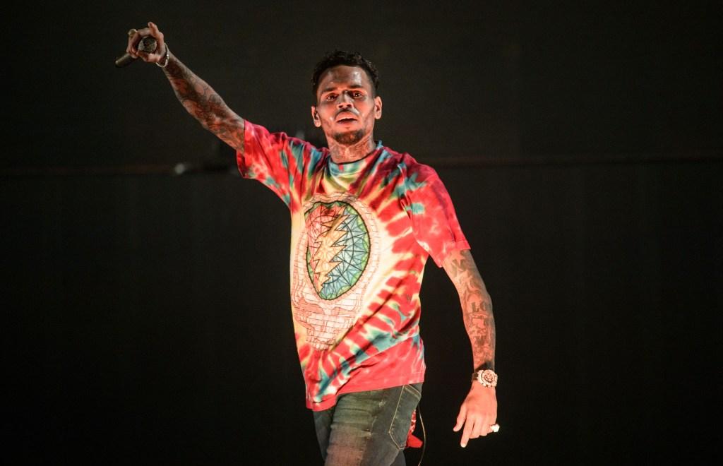 Chris Brown Performs In Frankfurt/Main