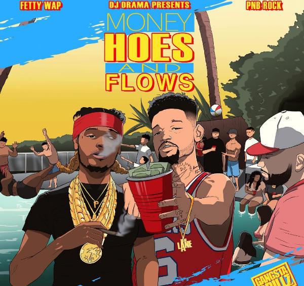 fetty wap, pnb rock mixtape cover art