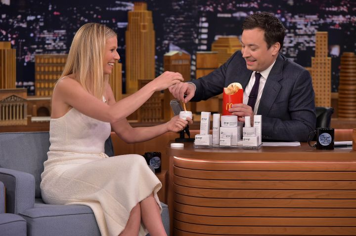 Gwyneth Paltrow and Jimmy Fallon like fries so much, they ate them live on late night television.