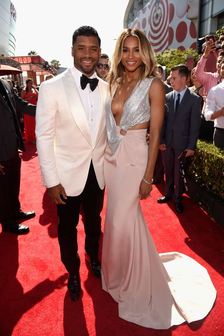 Newlyweds Ciara and Russell Wilson haven't stopped smiling since their wedding day.