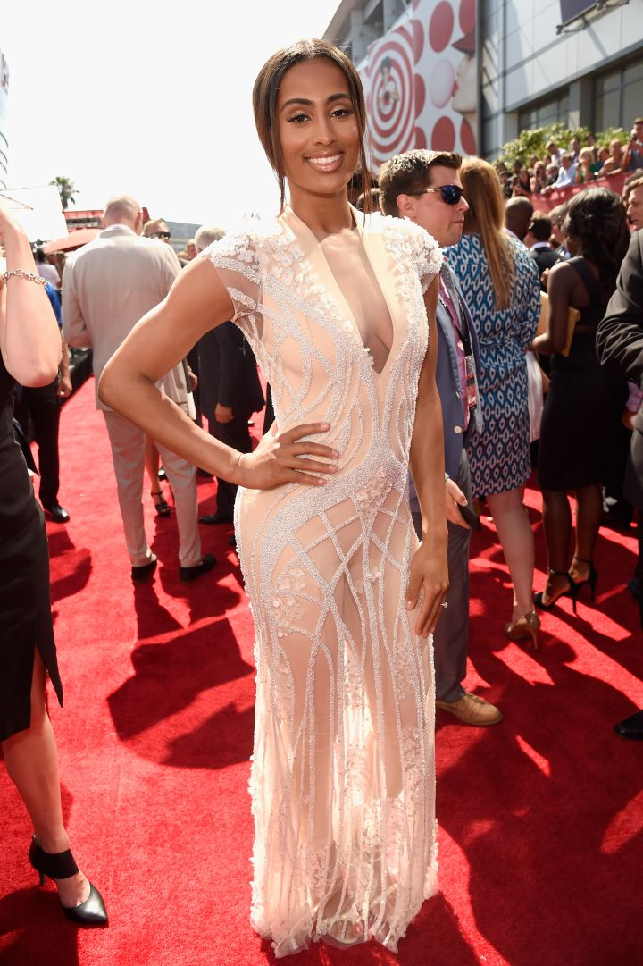 Skylar Diggins looked gorgeous as usual.