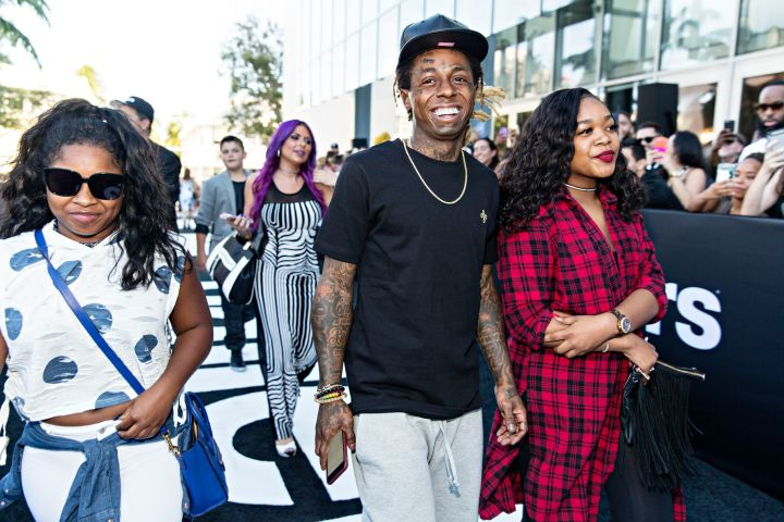 Lil Wayne Attends The HBO 'Ballers' Season Two Red Carpet