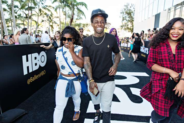 Lil Wayne hits the 'Ballers' Season Two Red Carpet