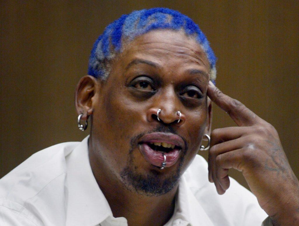 68293.ME.0731.rodman––(Santa Ana)–Former Chicago Bulls and Laker basketball star Dennis Rodman testi
