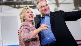 Democratic Presumptive Nominee for President former Secretary of State Hillary Clinton