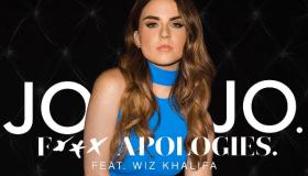 """jojo """"fuck apologies"""" single artwork"""