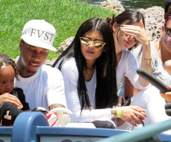 Kim, Kardashian, Kanye West, and more take North West to Disneyland