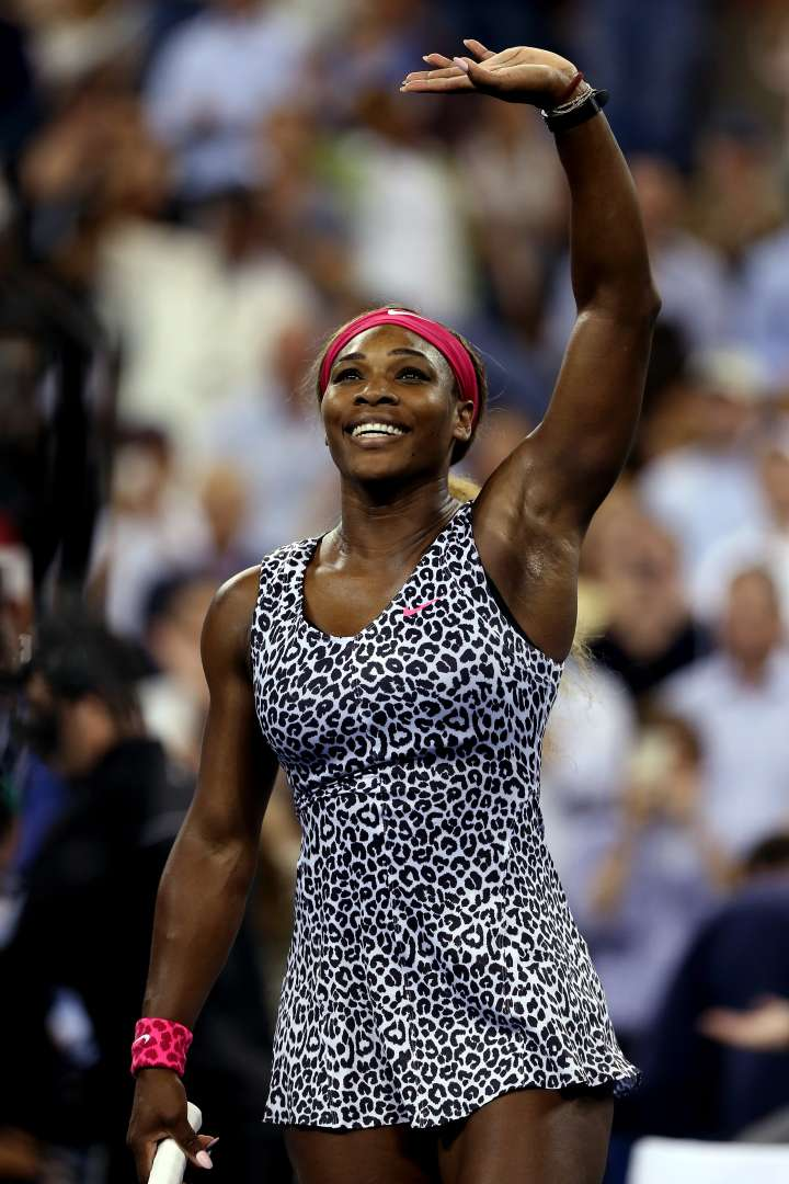 More cheetah for Serena at the 2014 US Open