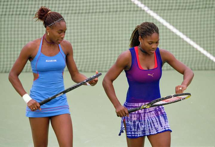 Venus and Serena looked super stylish at the 2000 Sydney Olympics