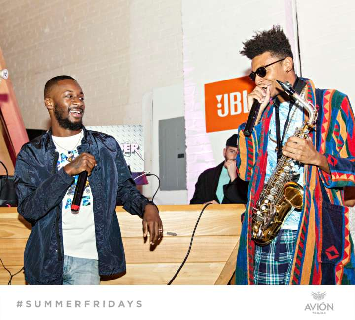 "GoldLink & Masego Perform Together At ""The Sleepover"" Pajama Party For Team Epiphany's Summer Series #SummerFridays"