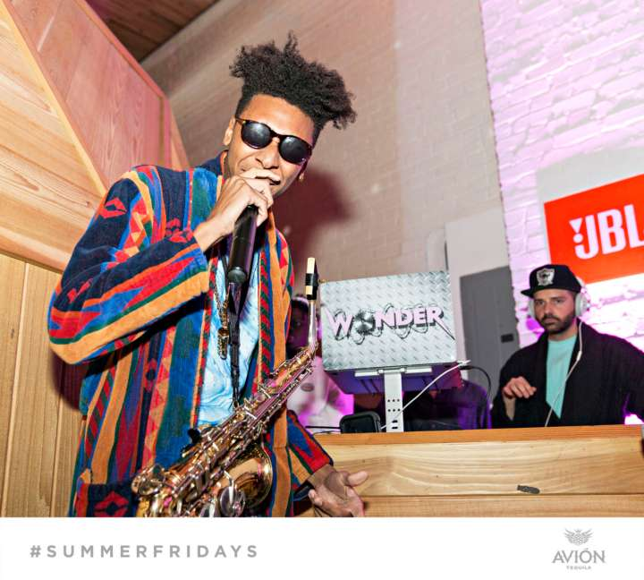 "Masego Performs At ""The Sleepover"" For Team Epiphany's Summer Series #SummerFridays"