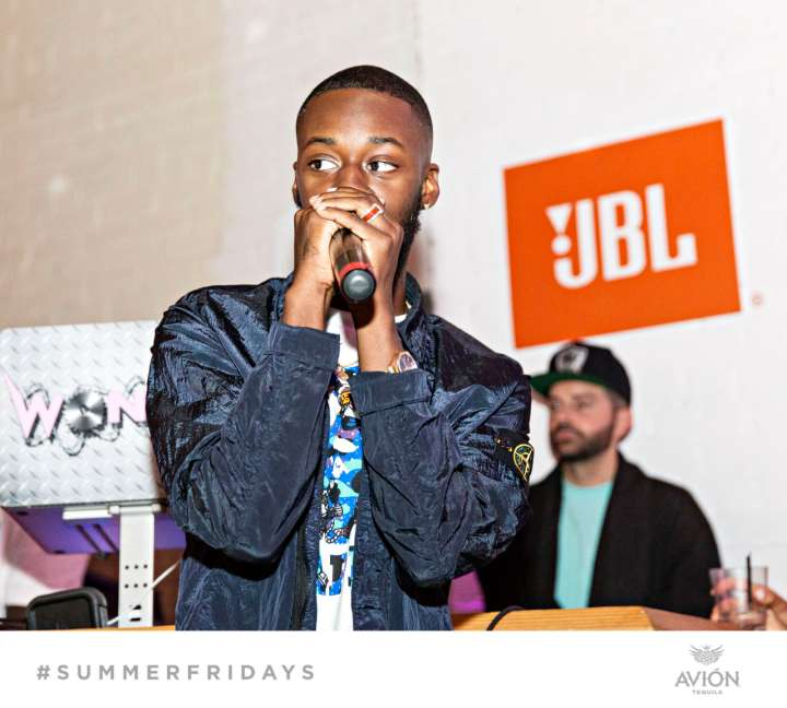 "GoldLink Performs At ""The Sleepover"" For Team Epiphany's Summer Series #SummerFridays"