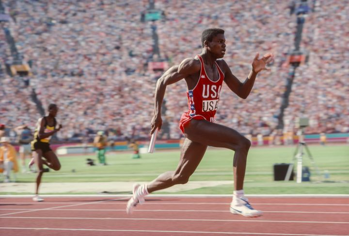 THEN: Carl Lewis
