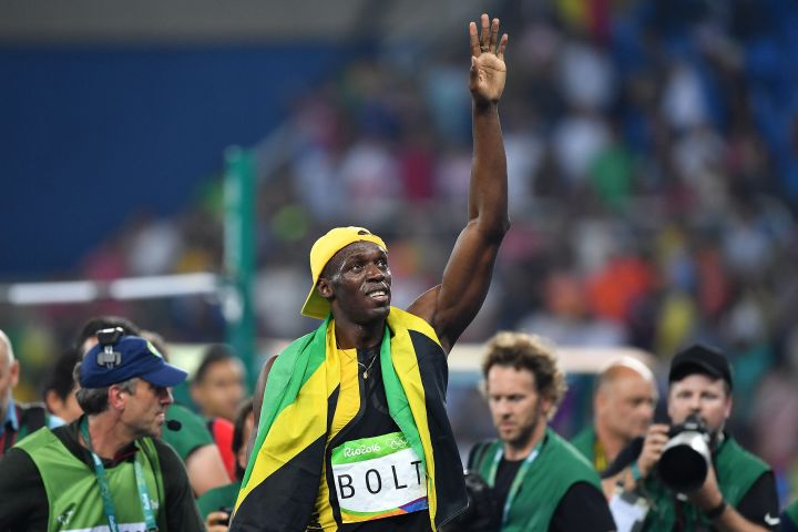 Usain Bolt suffers from scoliosis.