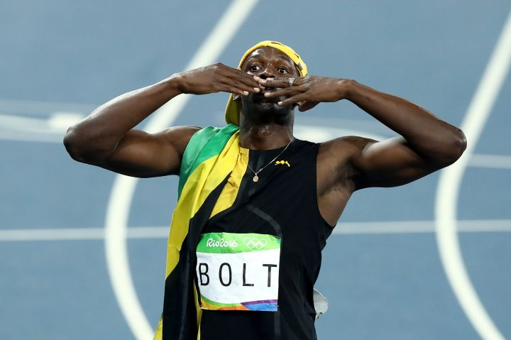 Bolt doesn't have any tattoos.