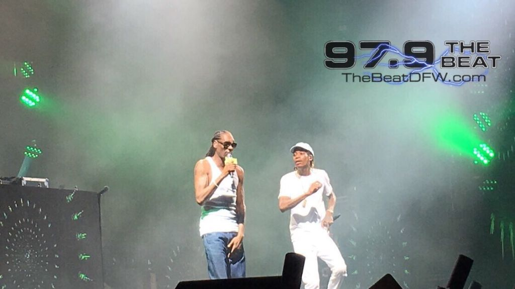 Wiz Khalifa x Snoop Dogg at High Road Tour