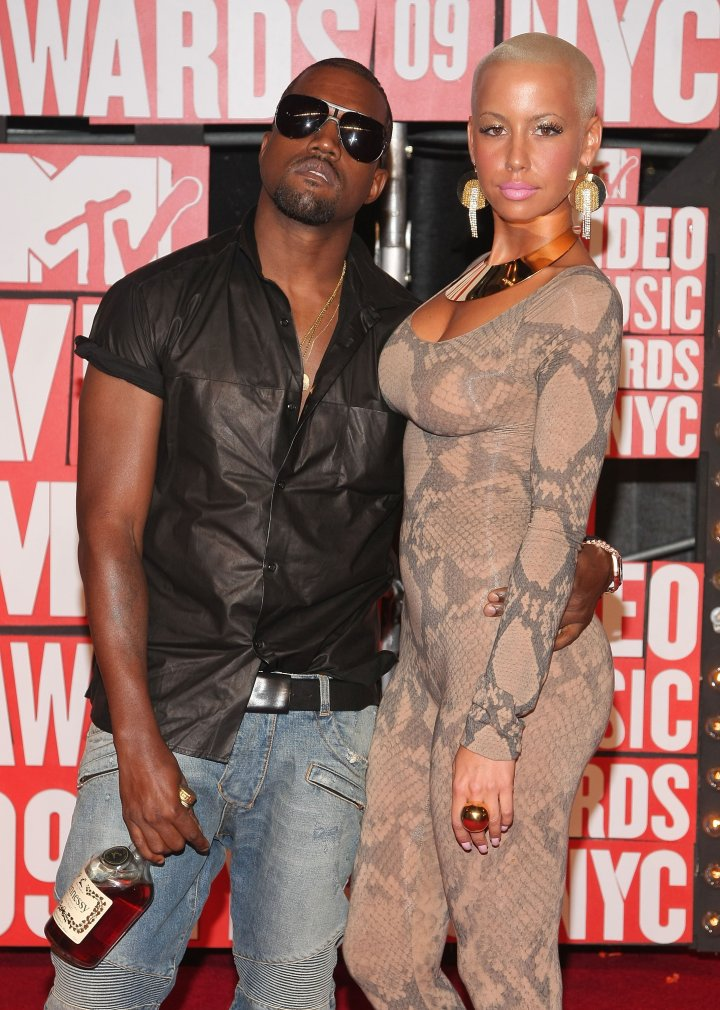 Kanye West & Amber Rose at the 2009 VMAs will forever go down in history.