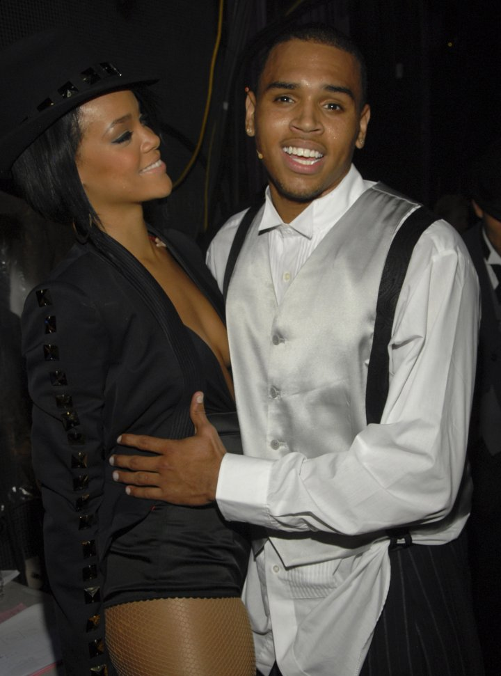 "Chris Brown & Rihanna were the ""IT"" couple of 2007. They even hit the stage to perform ""Umbrella"" together at the VMAs that same year."