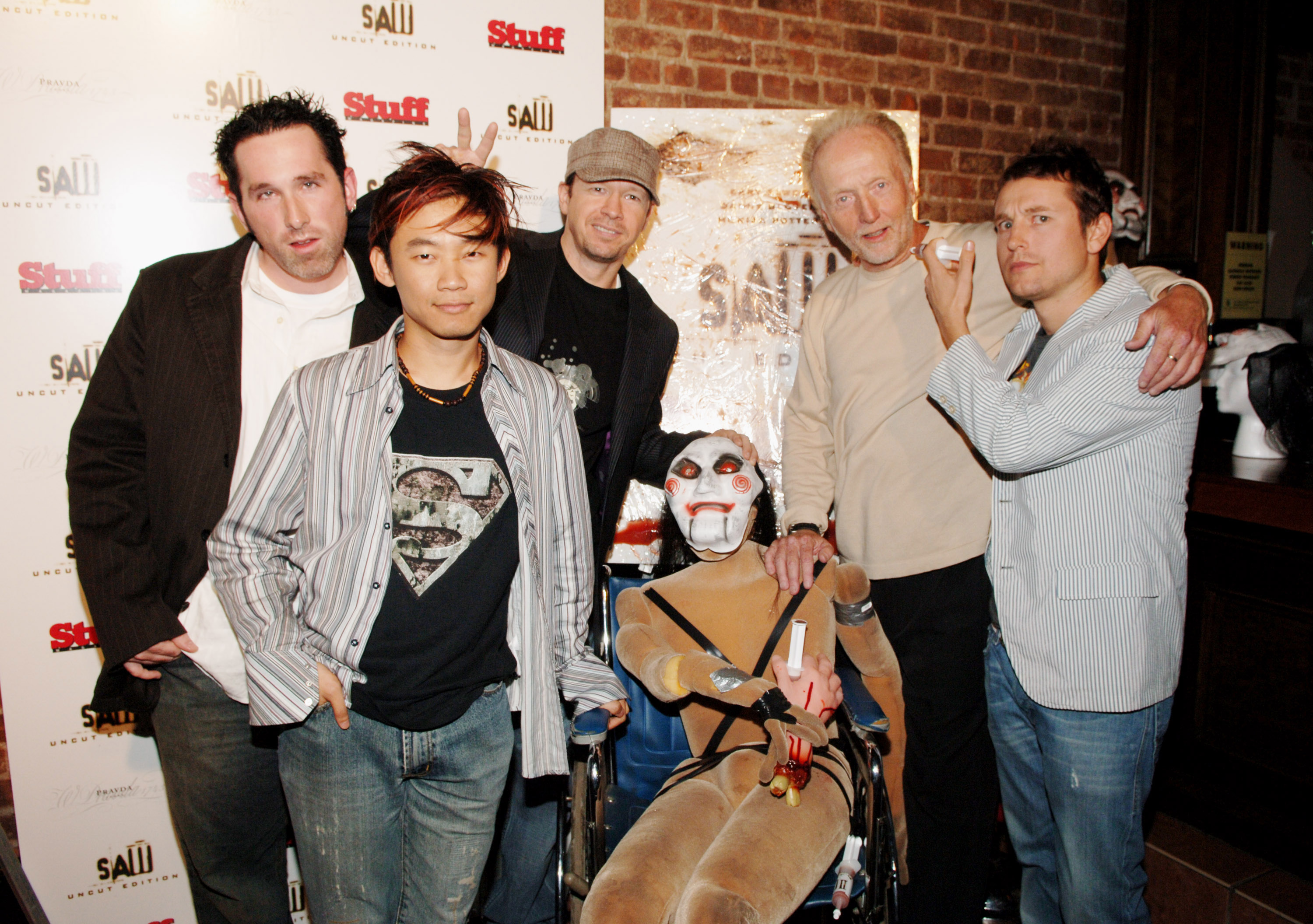 'Saw' DVD Release Party Hosted by Stuff Magazine