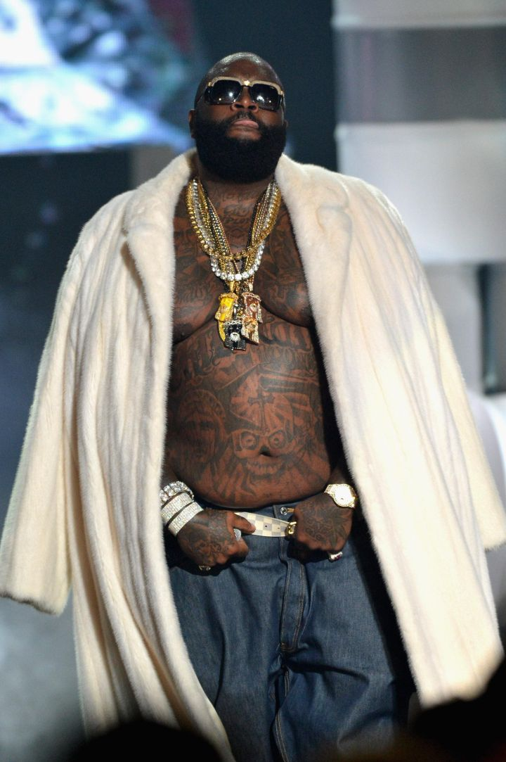 Rick Ross has always been a big boss.
