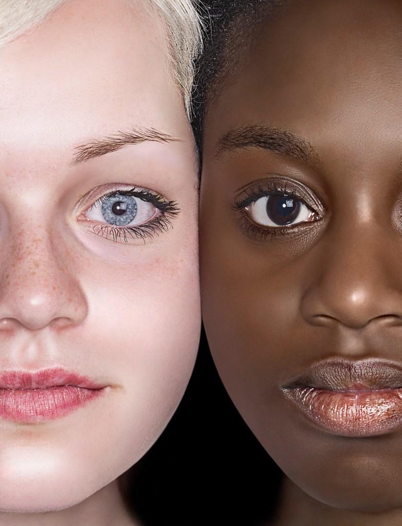 White & Black Girls