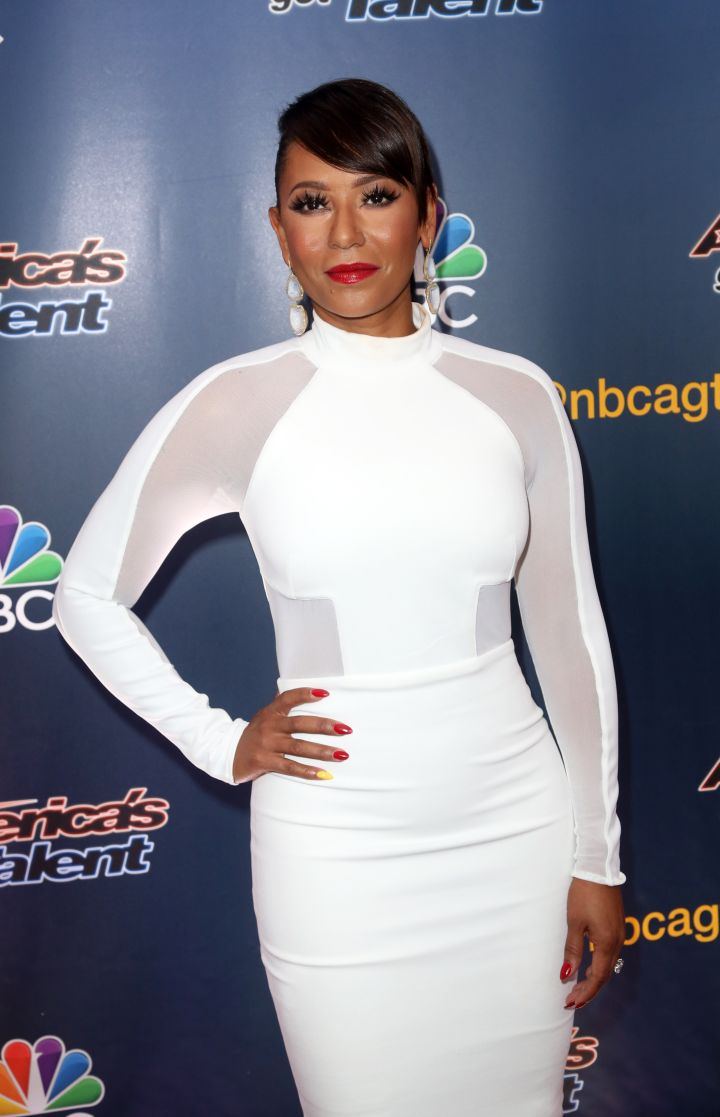 Mel B once revealed that she was in a four-year relationship with a woman before.