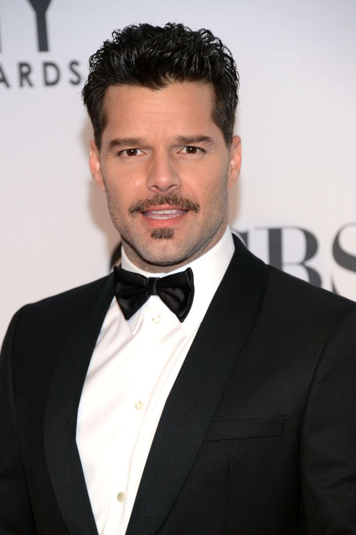 """Ricky Martin shocked the world when he came out as gay in 2010. The father of two once revealed, """"I know that I like both men and women, I'm against sexual labels."""""""