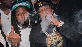 Lil Wayne and Birdman Together - File Images