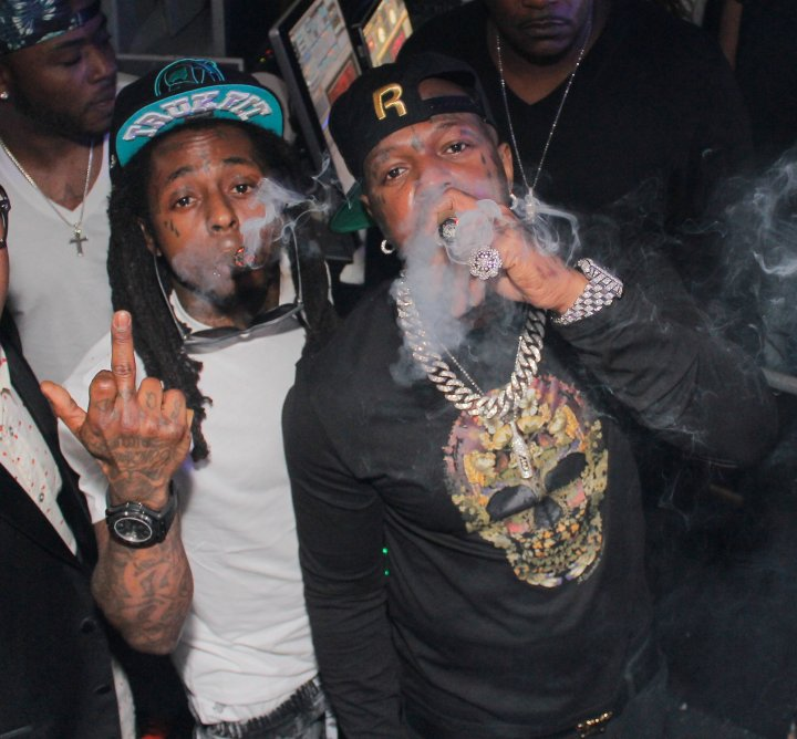 Friends no more, but Birdman and Lil Wayne were so close at one point, they openly kissed on the mouth.