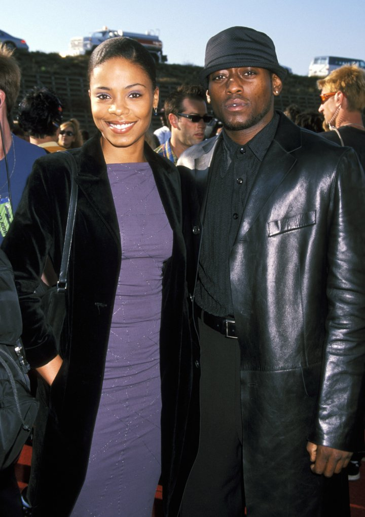 In the late '90s, Sanaa dated her 'Love & Basketball' co-star Omar Epps. Super handsome couple!
