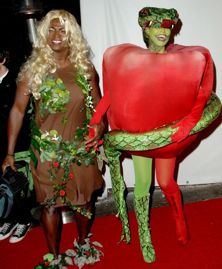 Seal dressed as Eve and Heidi Klum as the serpent from the Bible may have sounded like a good idea, until it wasn't.