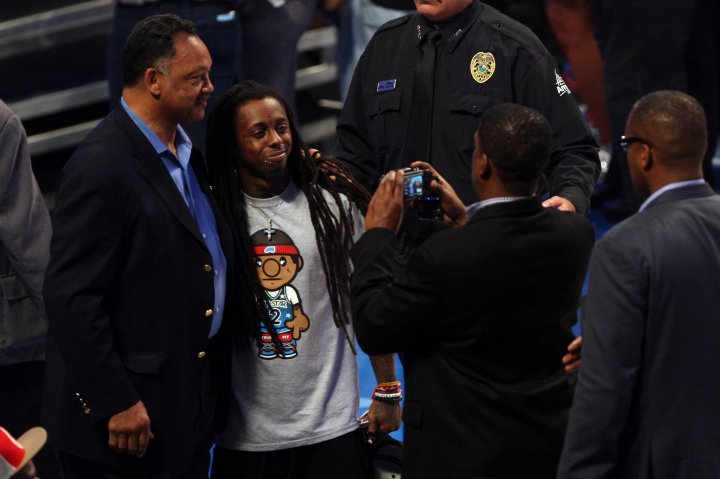 Jesse Jackson a fan of Weezy's? Who knew.