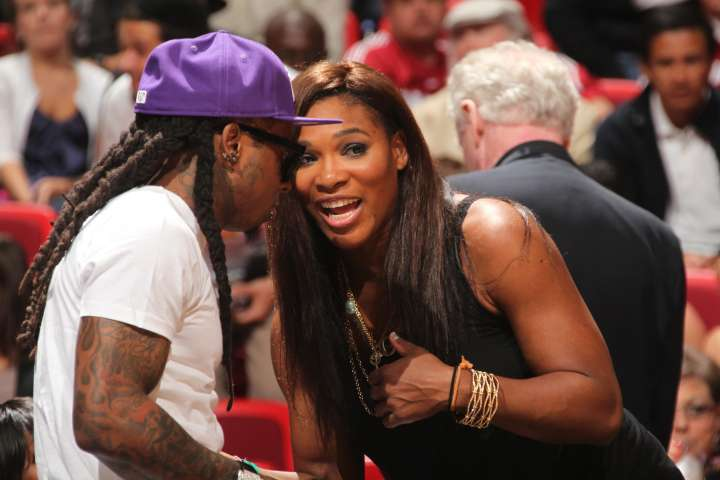 Serena Williams and Lil Wayne can both talk about being the greatest at what they do.