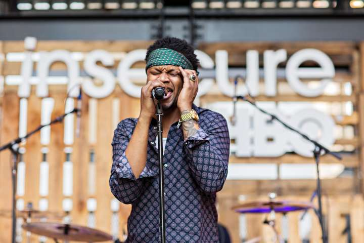 BJ The Chicago Kid Performs At HBO's 'Insecure' Block Party.
