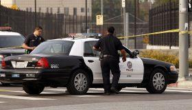 LAPD Investigates Accident in Highland Park