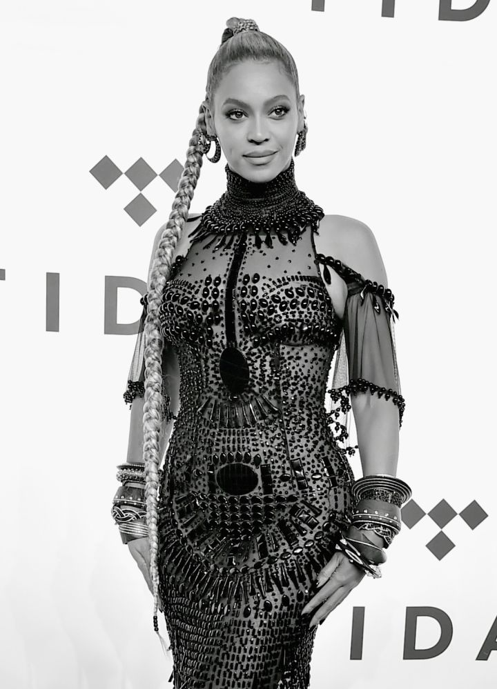 Beyoncé was a sight to behold on the red carpet.