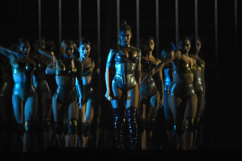 Beyonce at TIDAL X: 1015 benefit concert