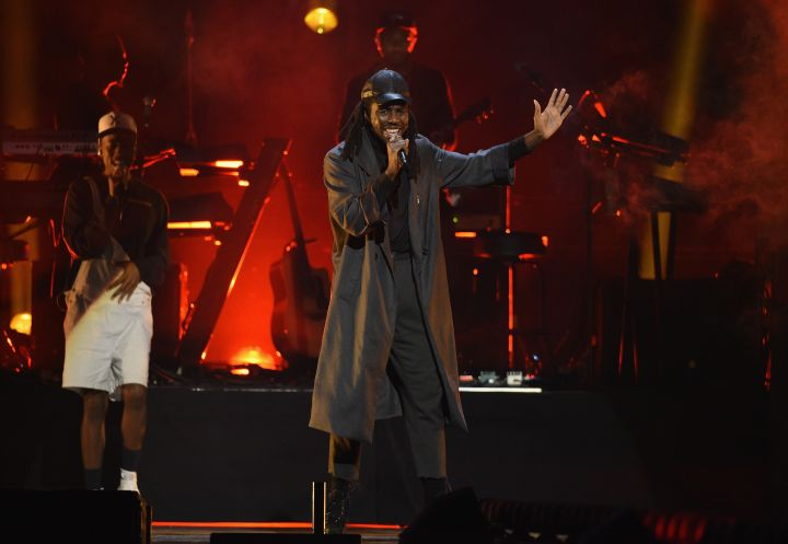 Blood Orange takes the stage.