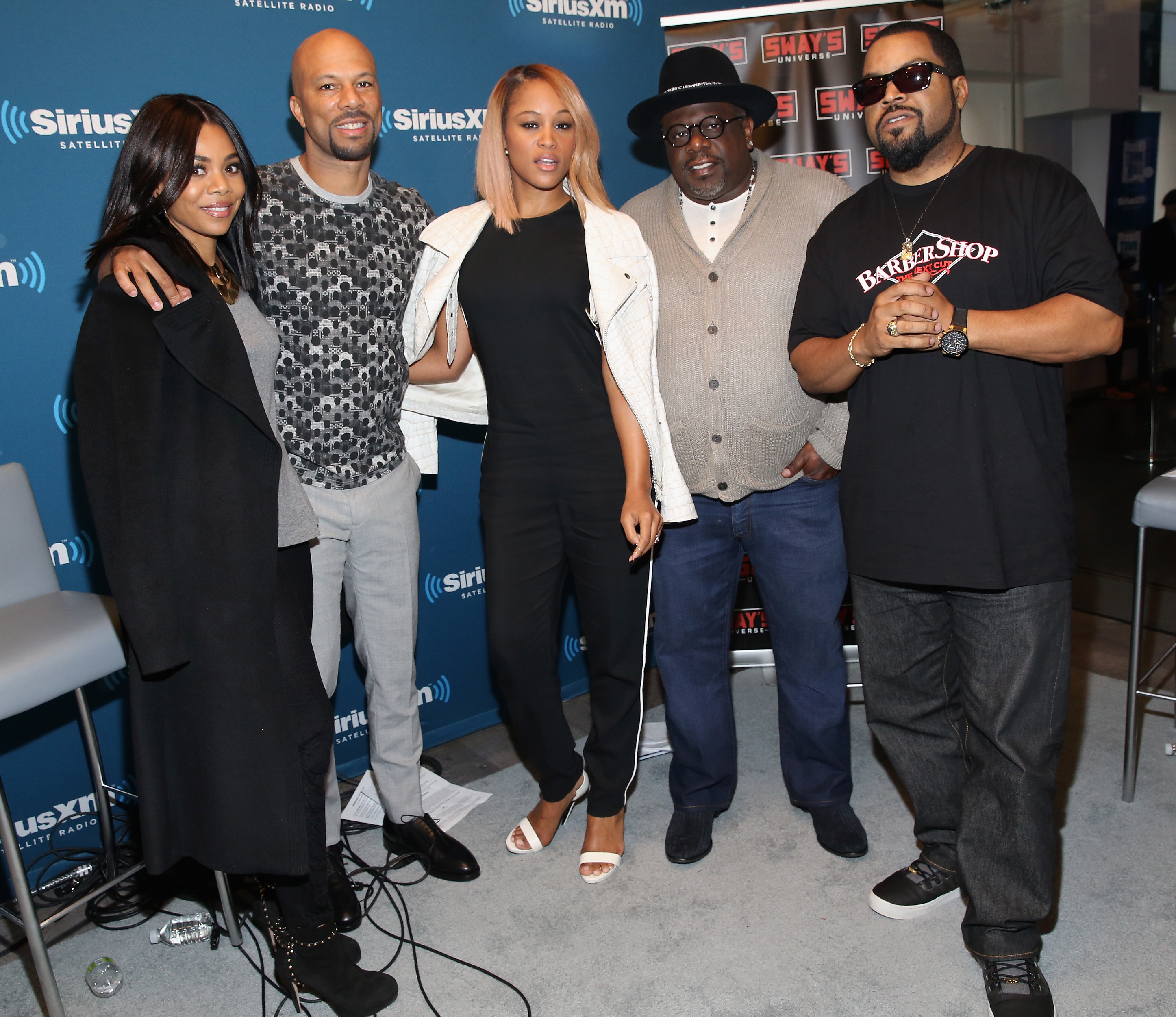 SiriusXM's 'Town Hall' With The Cast Of 'Barbershop: The Next Cut': Town Hall To Air On Eminem's Exclusive SiriusXM Channel Shade 45