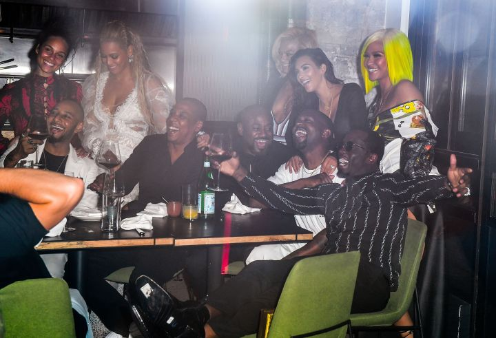 Jay, 'Ye, and their loved ones hit a star-studded 2016 MTV Video Music Awards after party.