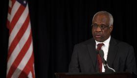 Clarence Thomas Speaks At The Memorial Service For Supreme Court Justice Antonin Scalia