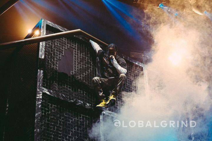 Travis Scott climbs high at ComplexCon.